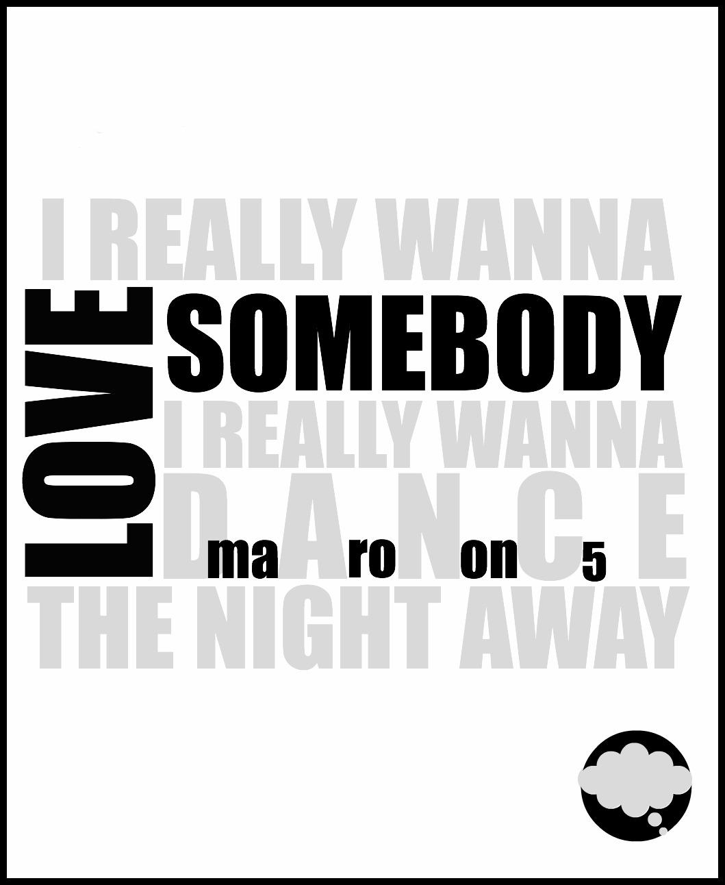 Love Somebody Maroon 5 Album Cover | www.pixshark.com ...