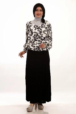 Model Atasan Baju Muslim Batik Terbaru