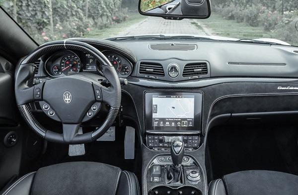 Interior Maserati GranCabrio Argentina
