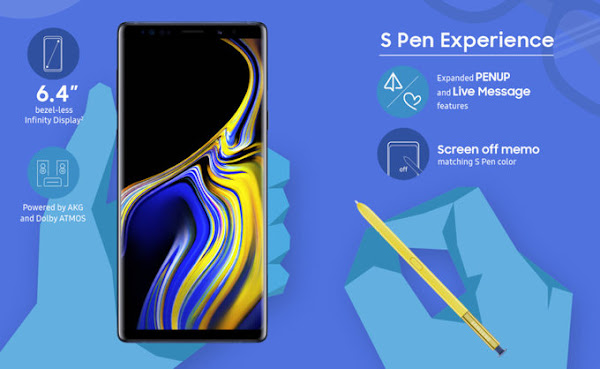 Samsung Galaxy Note 9 - S Pen