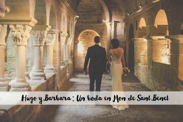 una boda en el mon sant benet rosa clara blog retales de bodas