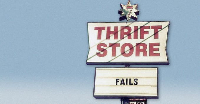 Thrift Store Shopping Tips - 7 Thrifting Fails