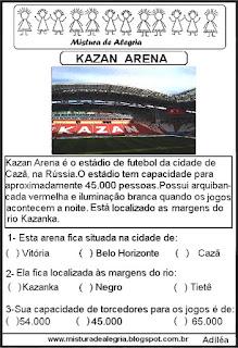 Arena Kazan copa mundial Rússia
