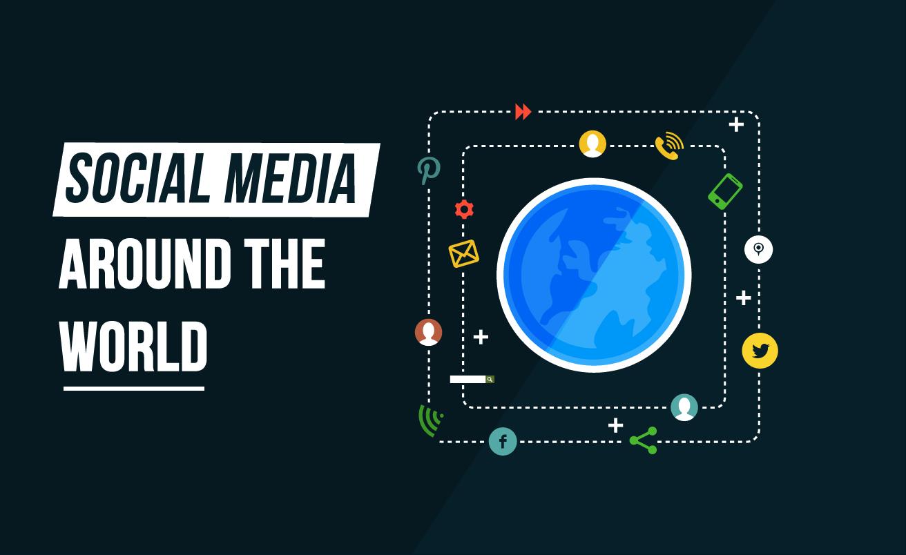 Pinterest, Facebook, Twitter: #SocialMedia Around The World
