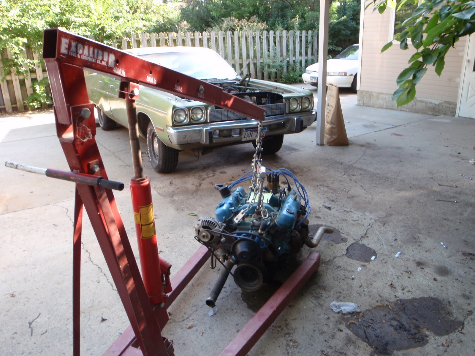 the cynical gearhead 1973 plymouth fury big block swap. Black Bedroom Furniture Sets. Home Design Ideas