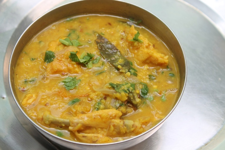 Chicken dal recipe chicken dal curry recipe yummy tummy oneday i visited one of my close friends place we had such a great time and for lunch she made ghee rice and dal curry i was surprised to see that combo forumfinder Gallery