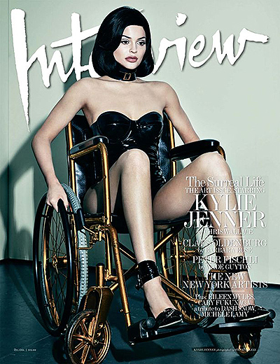 photoshoot Kylie Jenner in Interview magazine