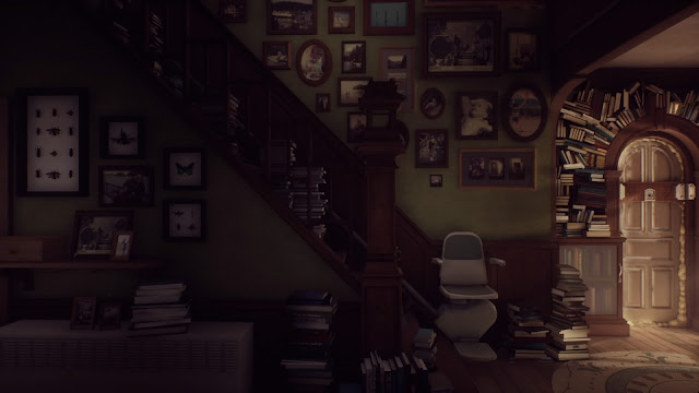 اللعبة التاسعة : What Remains of Edith Finch