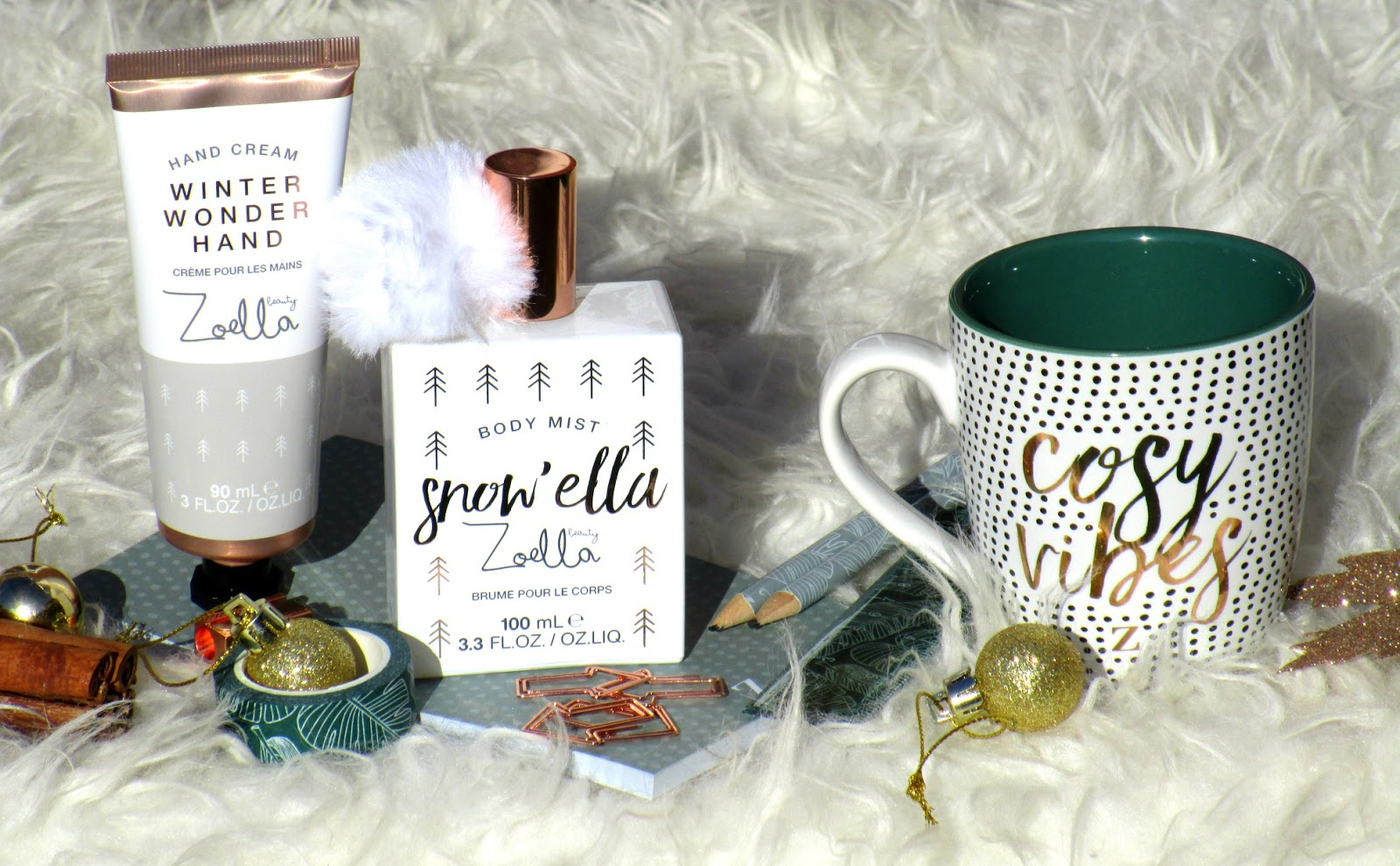 HaySparkle: Zoella Beauty and Lifestyle Christmas Collection Reviewed