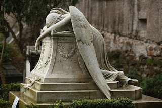 The Non-Catholic Cemetery in Rome (Italy)