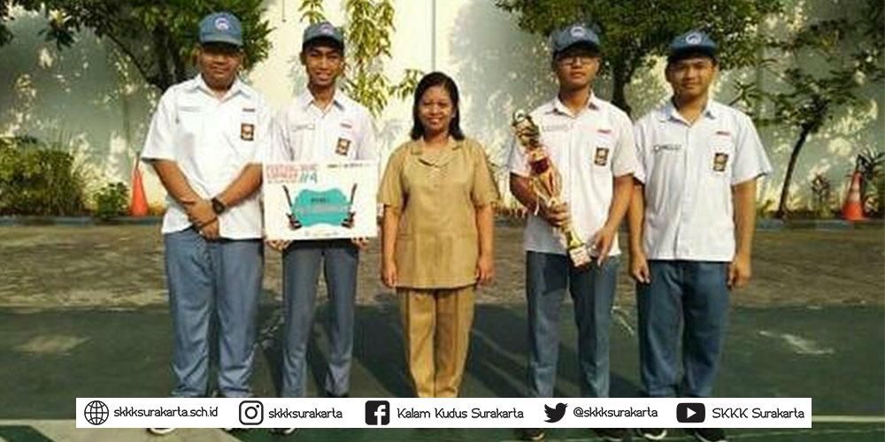 Grup Band SMA Kristen Kalam Kudus Juara 1 FBE#4
