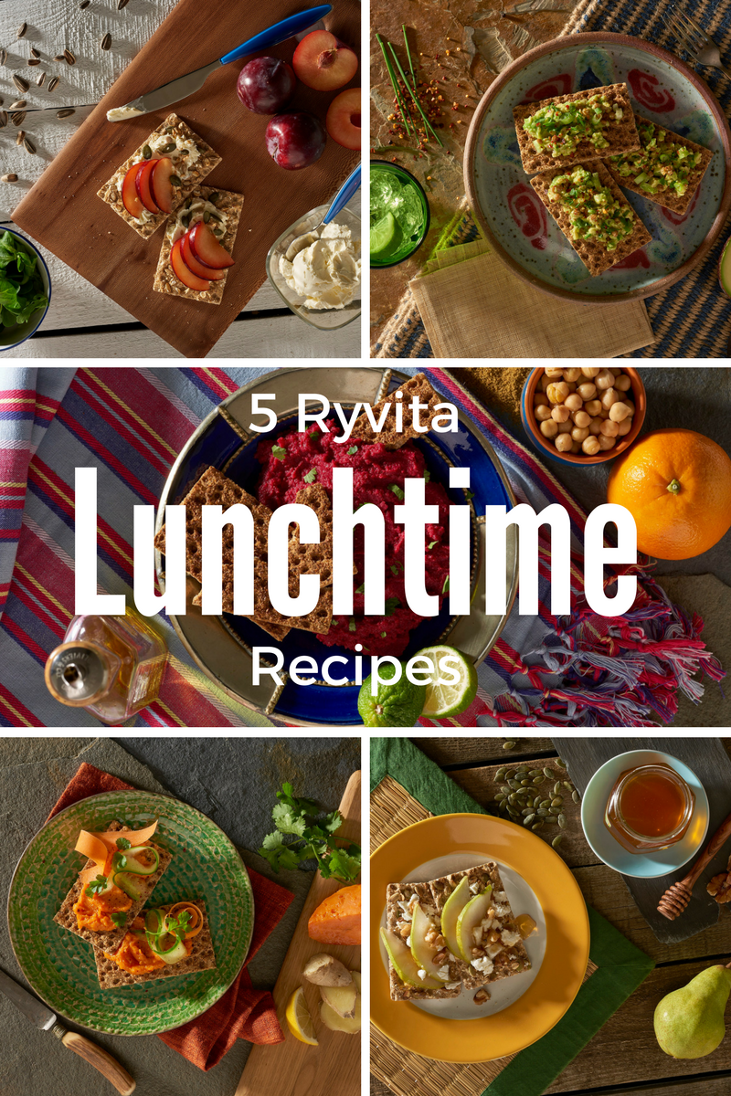 5 Ryvita Lunchtime Recipes To Try Out Today!