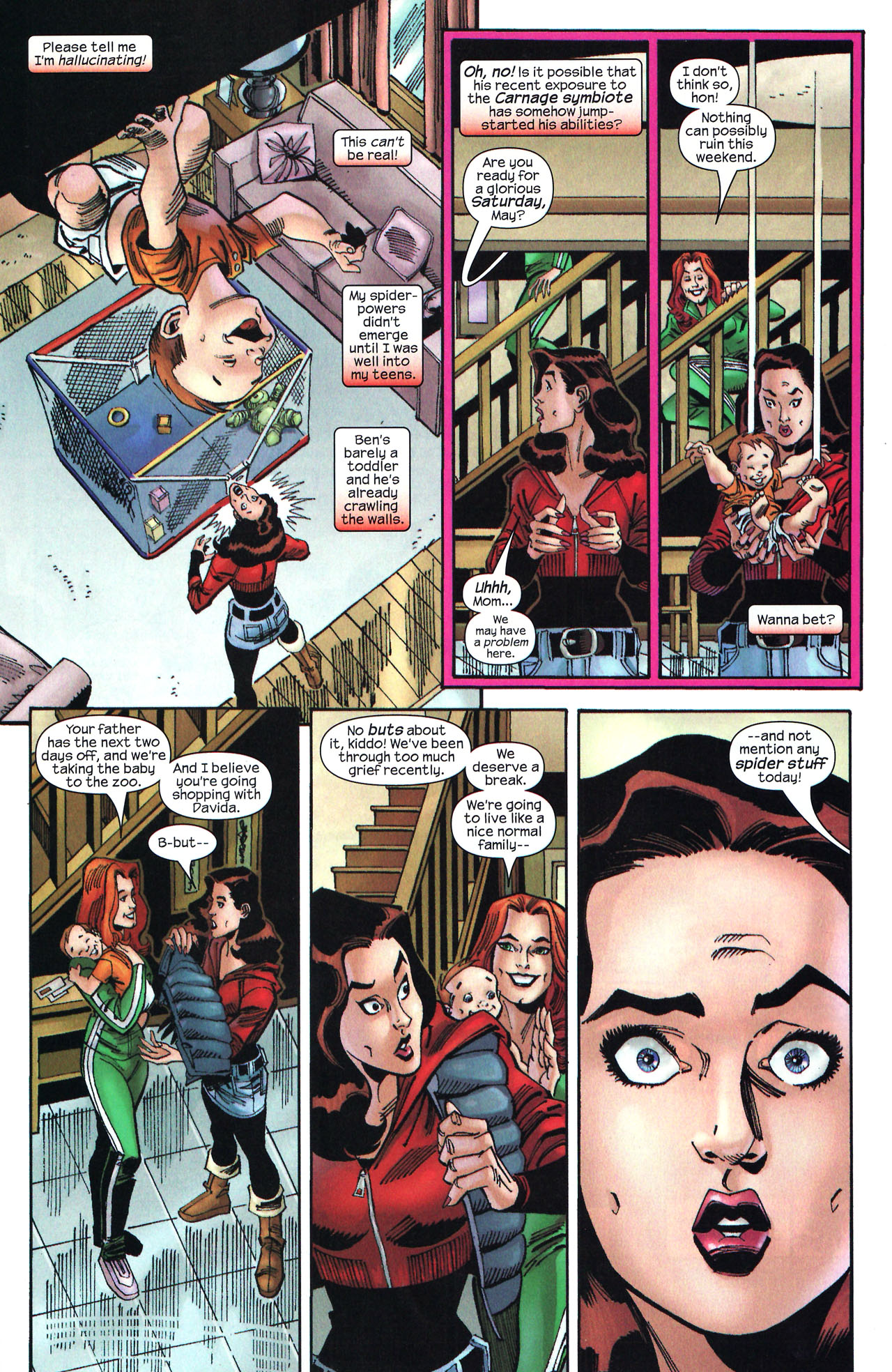 Read online Amazing Spider-Girl comic -  Issue #14 - 6