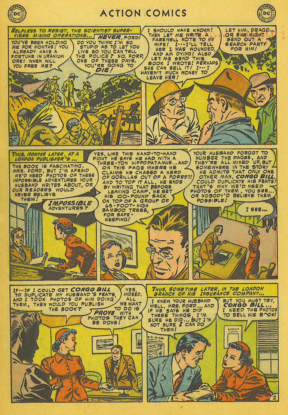 Read online Action Comics (1938) comic -  Issue #186 - 16