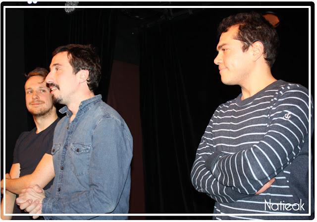 Benjamin Gourvez, Alexis Bloch et Malmoud Ktari dans Coupables