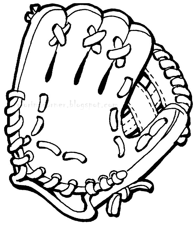printable coloring pages baseball coloring pages