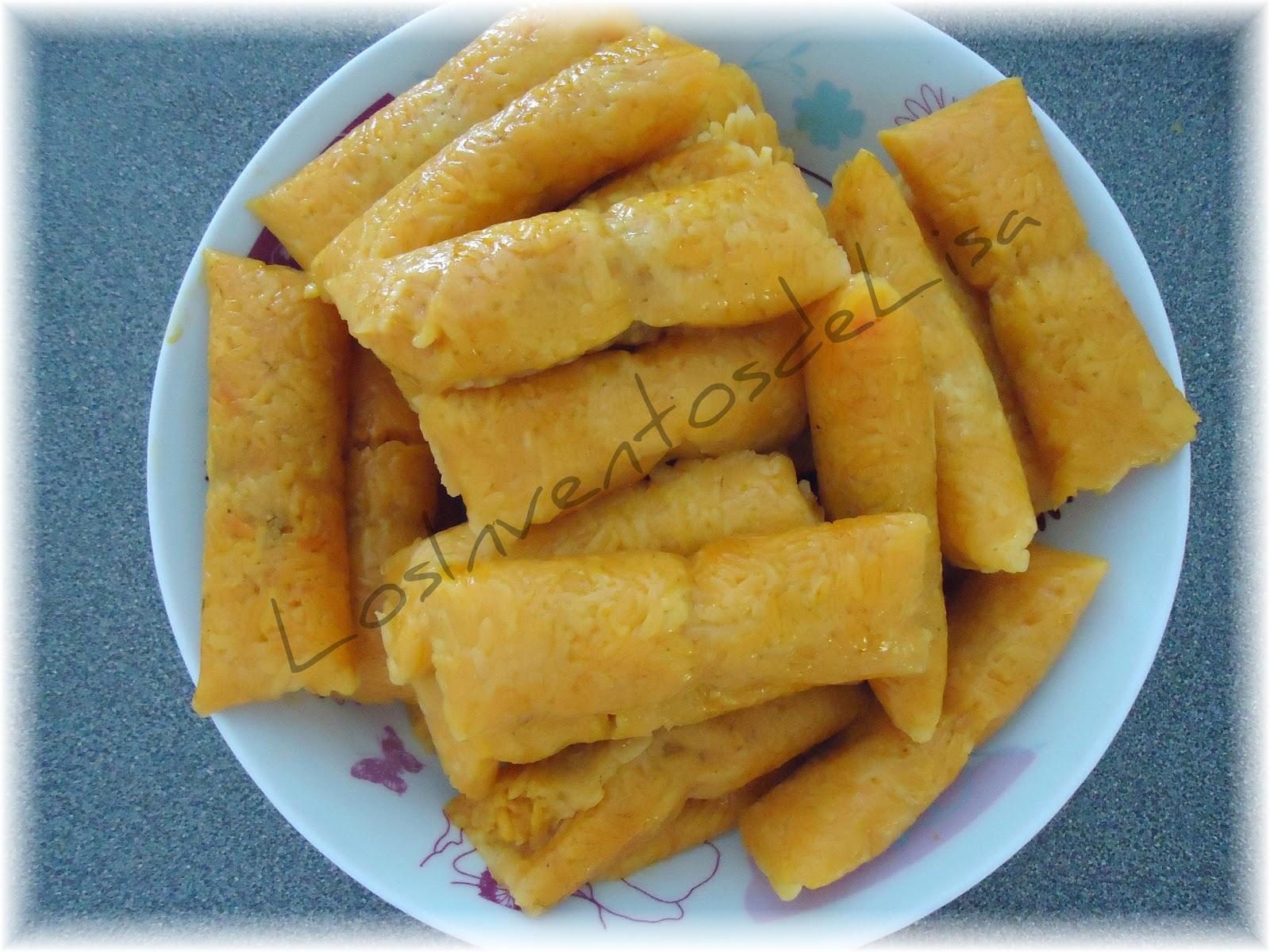 Los inventos de lisa pasteles de arroz for Cocinar 2 tazas de arroz