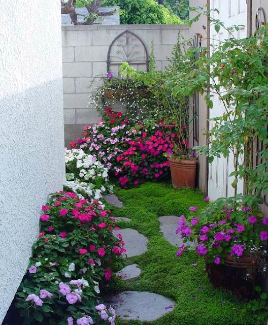 taman rumah sederhana