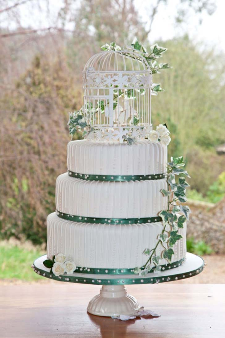 Elegant Wedding Cakes with Crystals | Cake Magazine