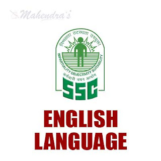 SSC Quiz : English Language | 12 - 01 - 18