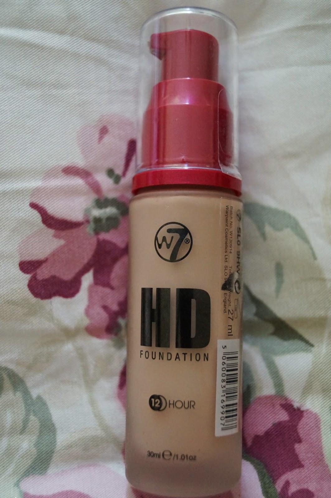 w7 makeup anmeldelse