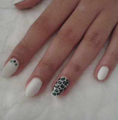 nail art leopardo
