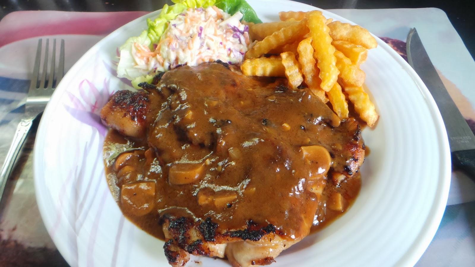 Resepi Sos Cendawan Untuk Chicken Chop Copd Blog R