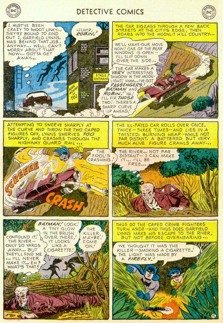 Read online Detective Comics (1937) comic -  Issue #184 - 6