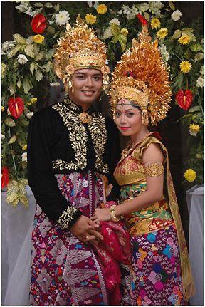 Perkawinan Adat Bali Budaya Nusantara