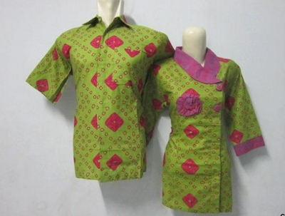 Model sarimbit batik untuk pasangan muda