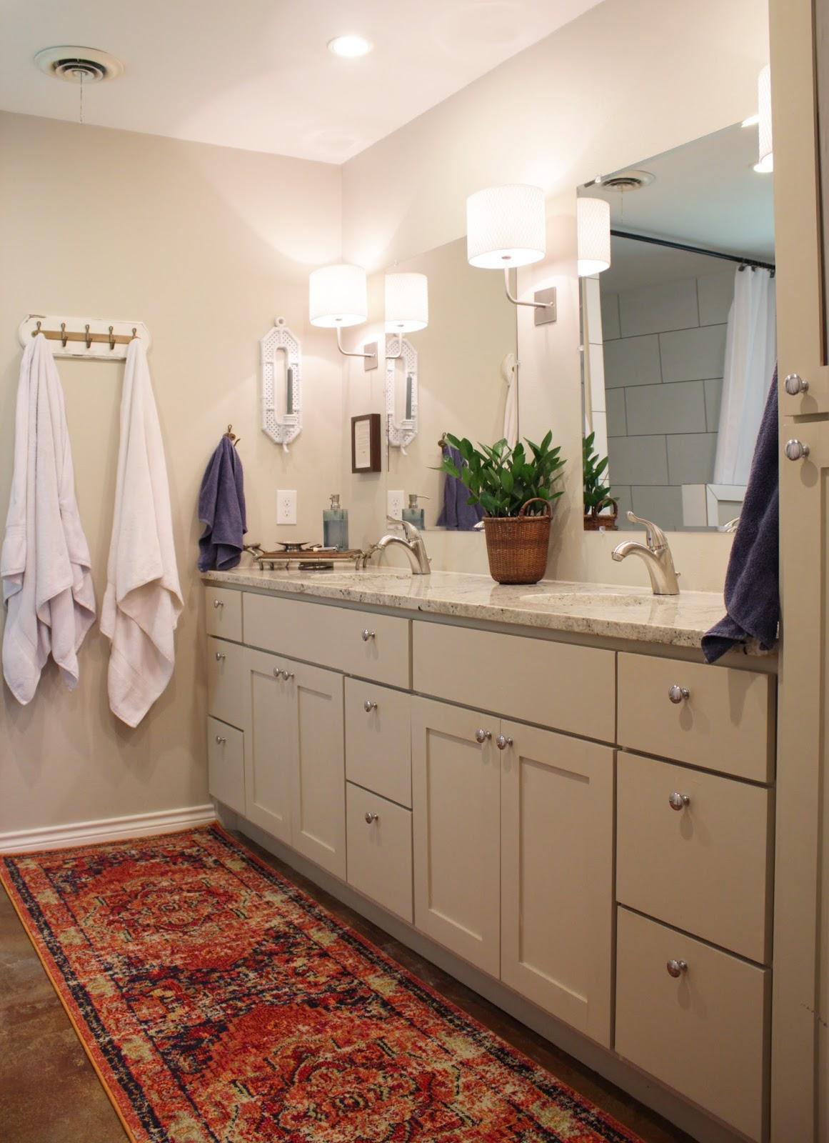 House Homemade Adding Color To Our Neutral Bathroom - Adding a master bathroom