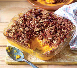 sweet potato casserole with bacon recipe