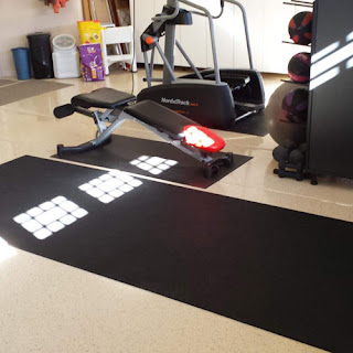 Greatmats plyometric rubber roll basement garage