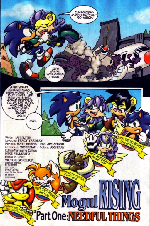 Read online Sonic The Hedgehog comic -  Issue #185 - 2