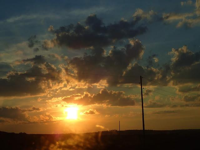Mołdawia - zachód słońca