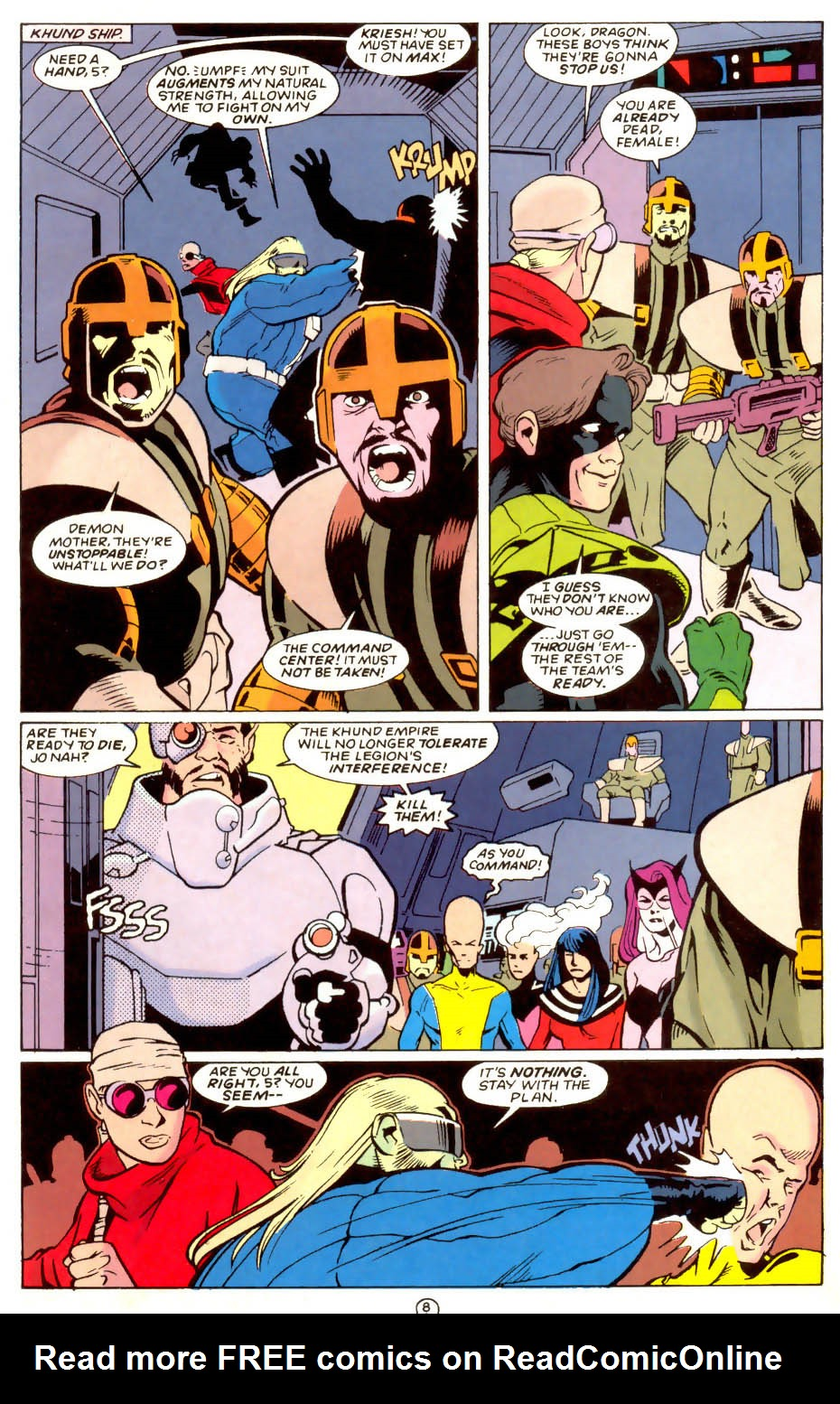 Legion of Super-Heroes (1989) 58 Page 8