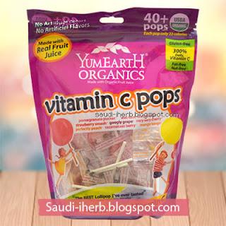 حلويات مصاصات عضوية من يمي ايرث