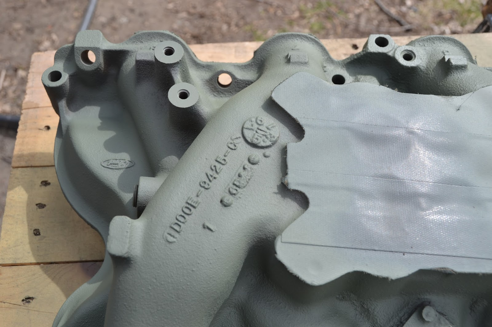 Ford Intake Manifold Casting Numbers