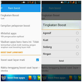Cara menggunakan aplikasi Smart Booster