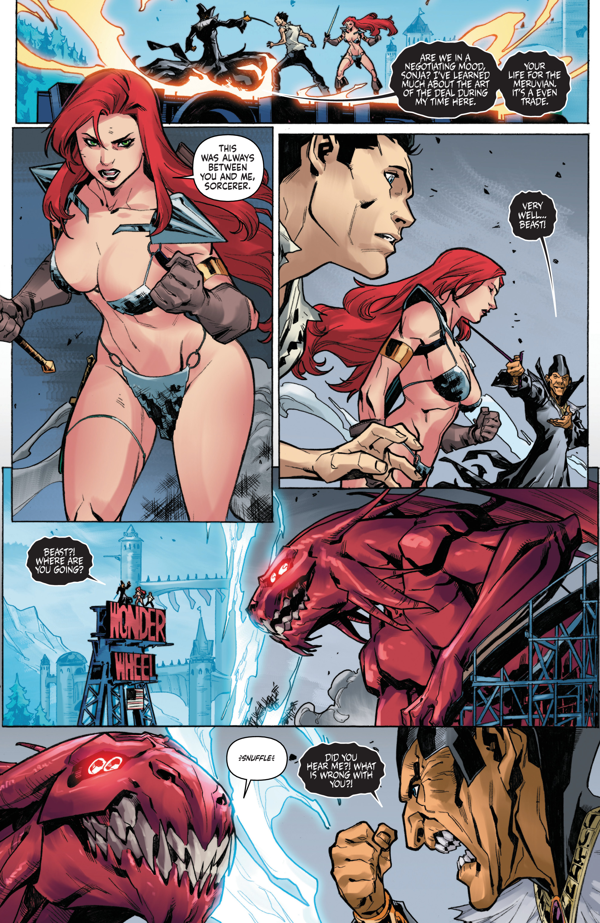 Read online Red Sonja Vol. 4 comic -  Issue #6 - 19