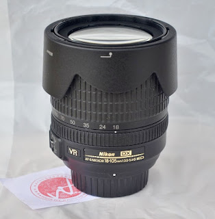 Jual Lensa Nikon 18-105 Bekas