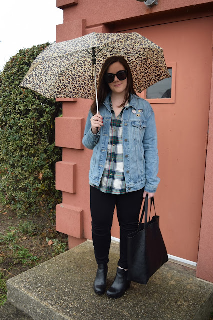 Sequins and Skulls: Rainy Day Style