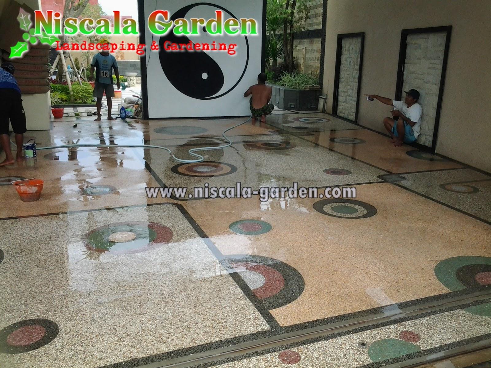 Tukang Batu Sikat Surabaya Jasa Taman Penata Bagus Lantai