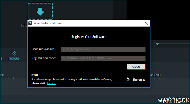 gojing: How to Remove Filmora Watermark For Free 2017