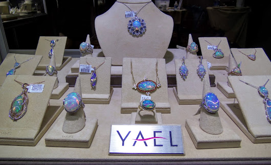 #DesignerSpotLight - #SilentSunday Looks At Yael Designs at the LUXURY by JCK in Las Vegas