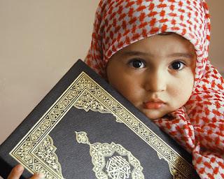anak perempuan muslimah