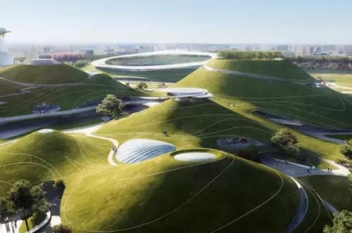 Campus sportif de Quzhou © MAD