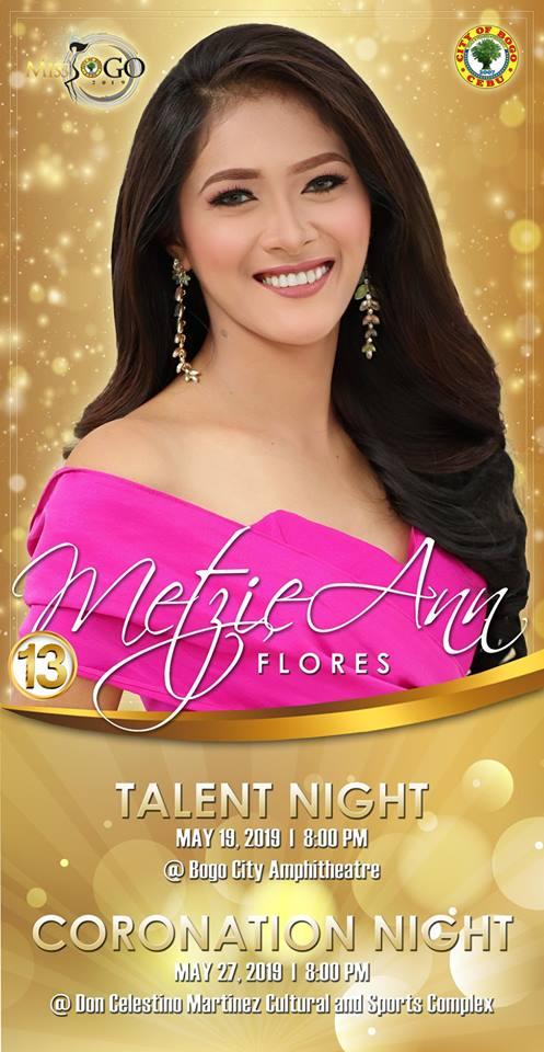 METZIE ANN FLORES Candidate #13