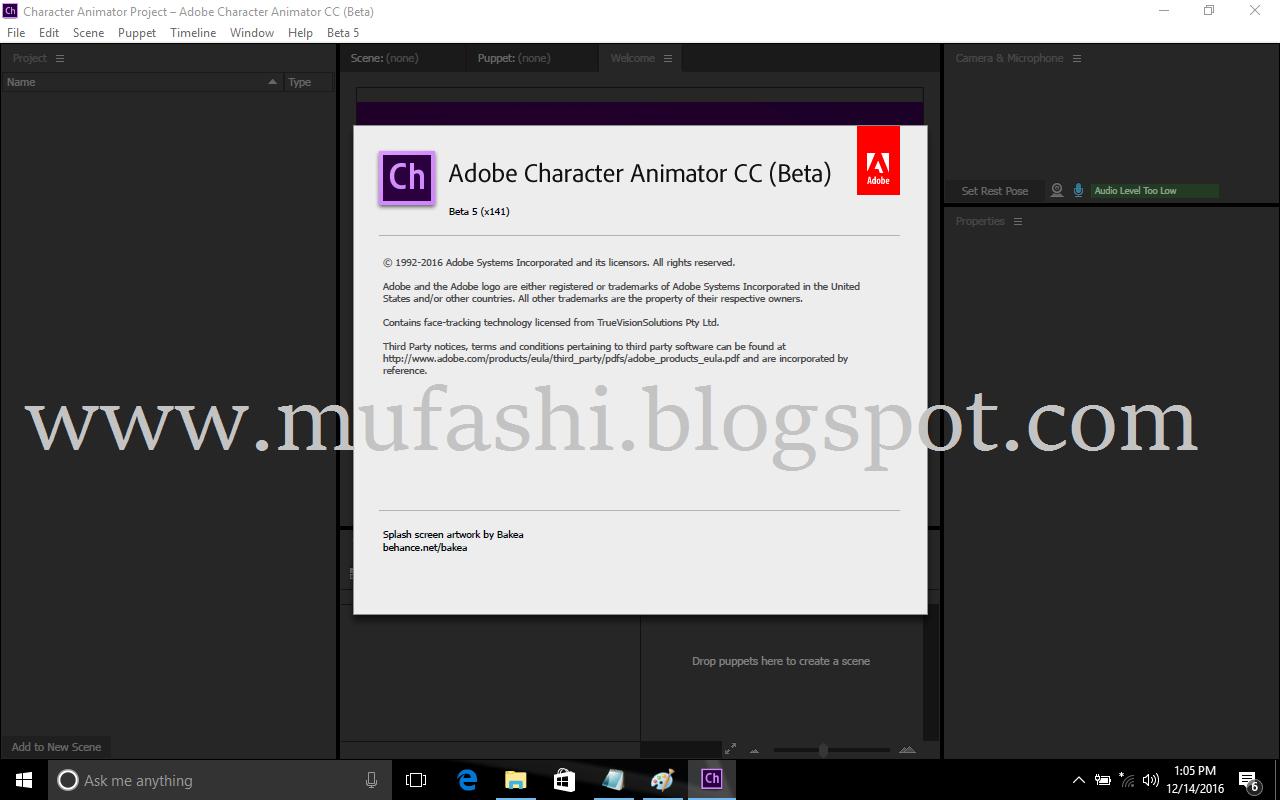 Adobe Character Animator Cc 2017 Mufasi Com Full