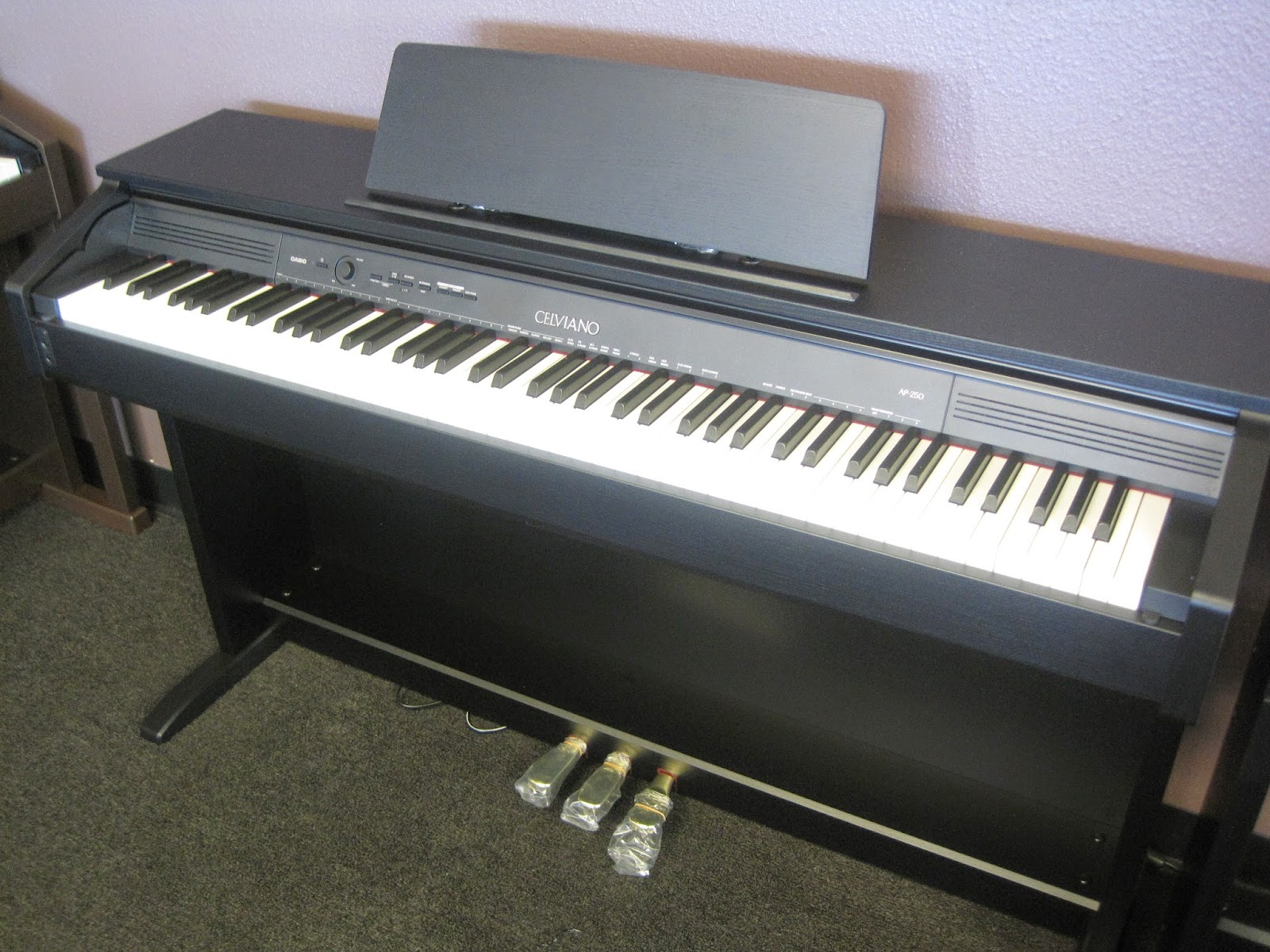 az piano reviews review casio ap250 digital piano recommended. Black Bedroom Furniture Sets. Home Design Ideas